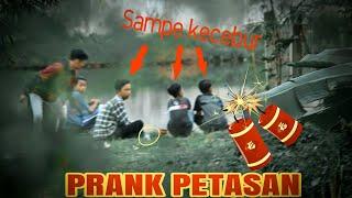 Ngakak Banget!!! Ngagetin Orang Pake Petasan || Prank Indonesia