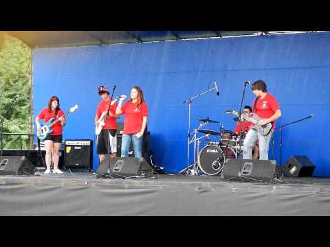 TJ's Music All Star Band @ Fall River Gates of the City - Iron Maiden - The Trooper.MOV