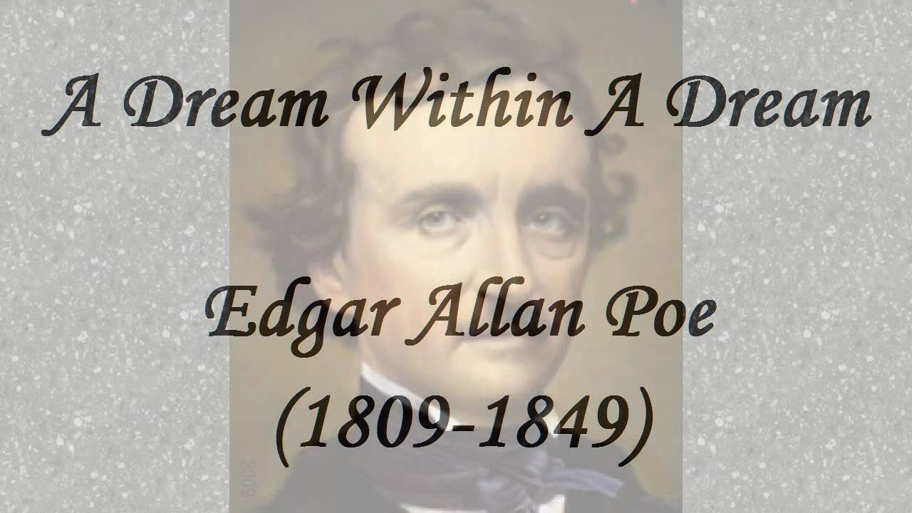 a dream edgar allan poe pdf