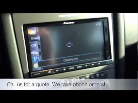 Pioneer AVIC-Z140BH Navigation Advanced App Mode 2006 Porsche Cayman