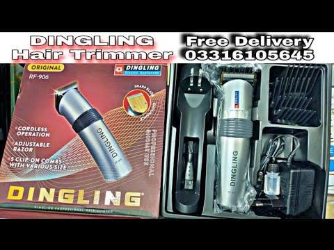 DINGLING hair trimmer Free delivery