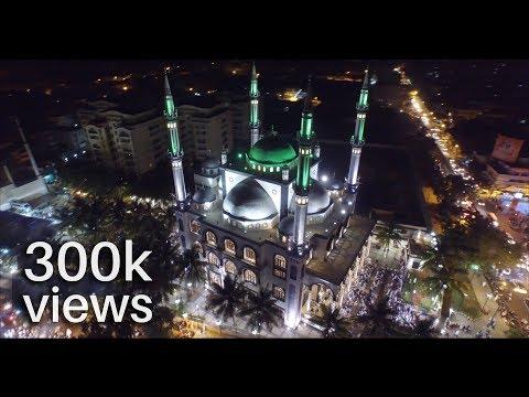 Bilal Masjid Bengaluru India | Aerial View 4K | DJI Inspire 1