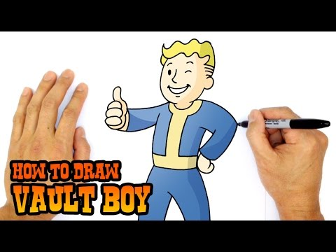 Как нарисовать фоллаут