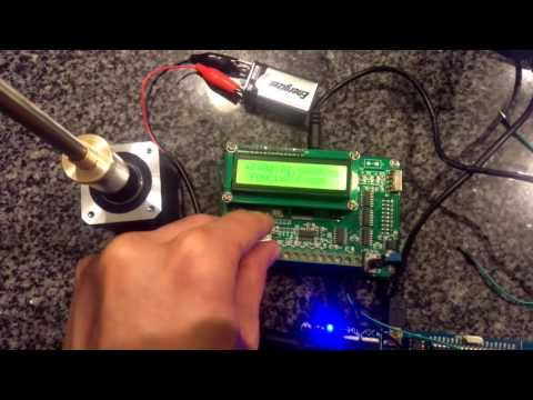 High speed stepper motor 260 khz youtube for High speed stepper motor
