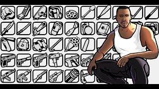 ¿Dónde encontrar TODAS LAS ARMAS DE GTA SAN ANDREAS? thumbnail