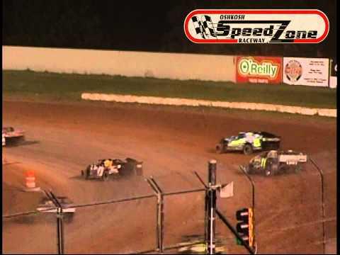 Oshkosh Speedzone Raceway - July 5, 2013 - Sport Modified Feature
