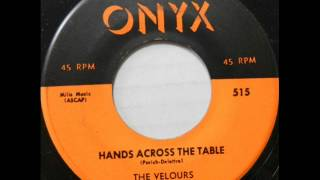 Hands Across The Table -  Velours