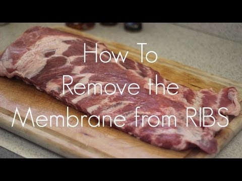 How To: Remove Membrane From Ribs