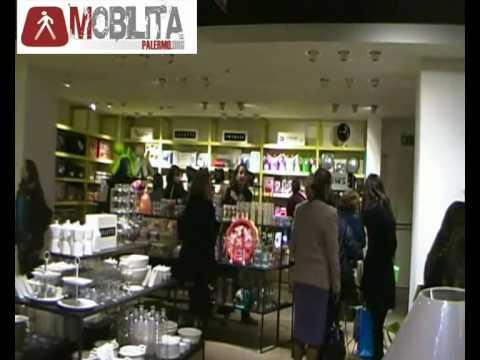 inaugurazione la rinascente palermo via roma youtube