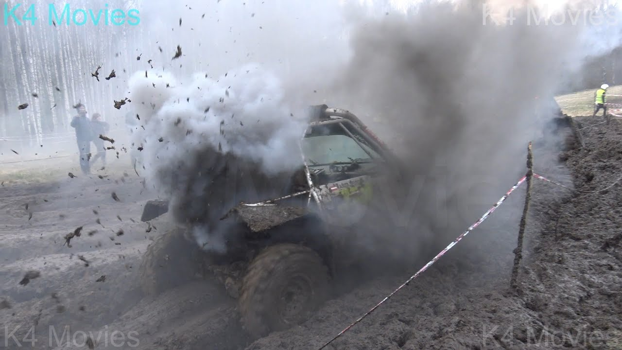 Off-Road vehicles in Mud meadow