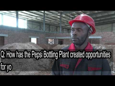 Pepsi Bottling Plant creates employment for Zimbabweans
