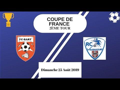R.C. Voujeaucourt - F.C. Bart (1-6) - Résumé (Coupe de France)