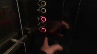 Old 1974 Classic KONE (Mod by OTIS 2007) Traction Elevator @ Sinimäentie 6, Mankkaa, Espoo, Finland