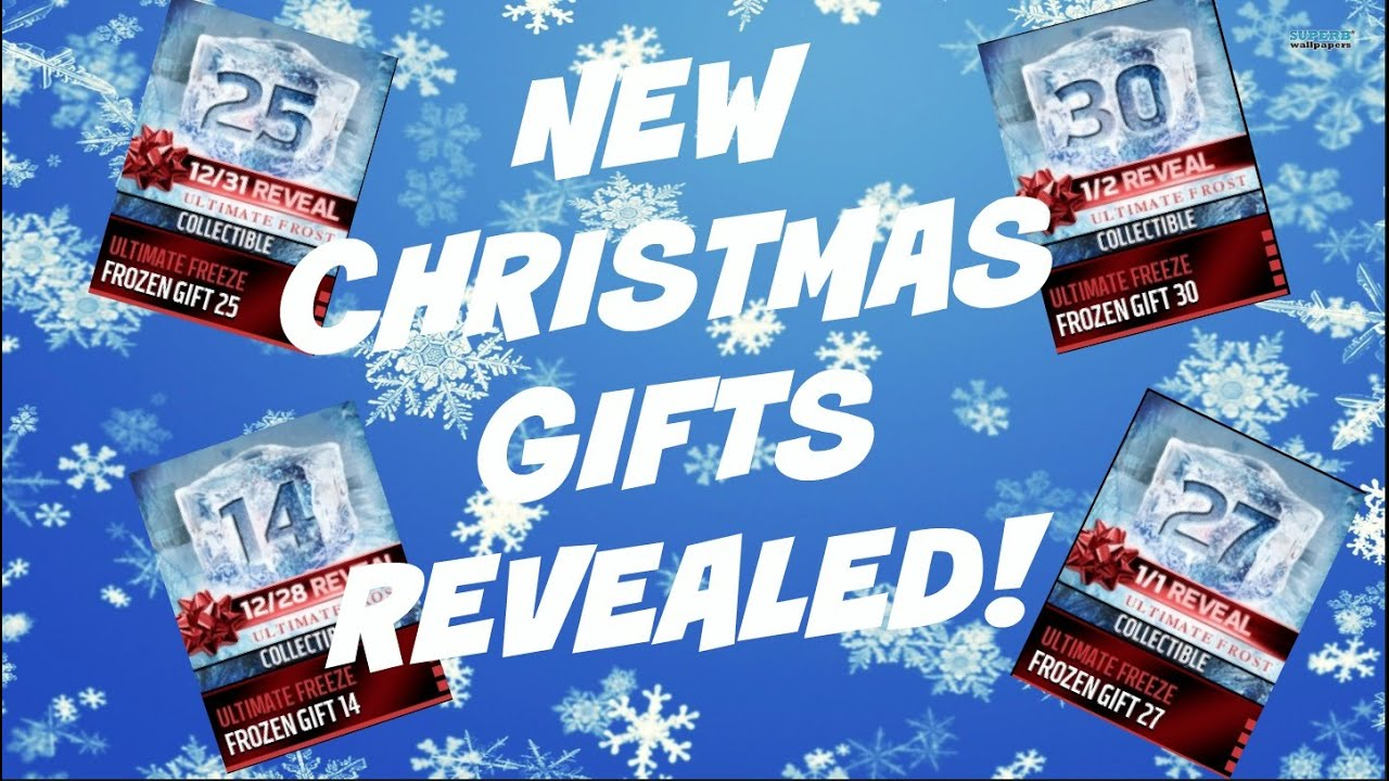 Madden Mobile 16 | NEW CHRISTMAS GIFTS REVEALED! - YouTube