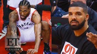 Kawhi Leonard, Drake React To Game 7 Winning Shot