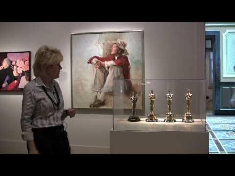 Katharine Hepburn, Oscars & Portrait -- National Portrait Gallery