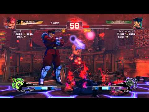 Ultra Street Fighter IV battle: Evil Ryu vs M. Bison