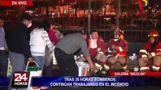 Se registran nuevas explosiones en centro comercial Nicolini