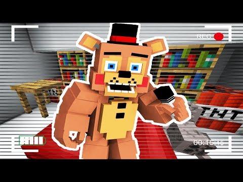 FREDDY M'A KIDNAPPÉ ET ENFERMÉ DANS CETTE PIÈCE ! Minecraft survie Fnaf