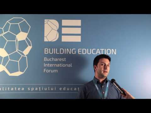 Building Education Bucharest 2016: Arh. Adrian Pop