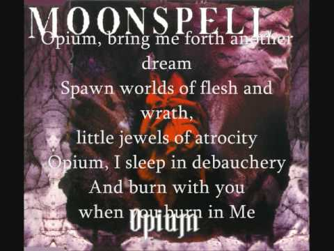 Moonspell Opium lyrics mp3