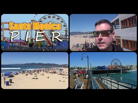 Santa Monica Pier Los Angeles / Real Life GTA V
