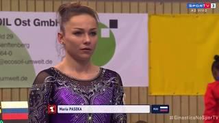 Maria Paseka Vault 2019 Cottbus World Cup Event Finals