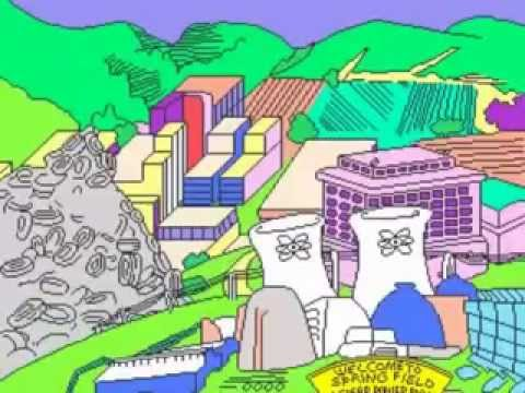 THE SIMPSONS KONAMI 1991