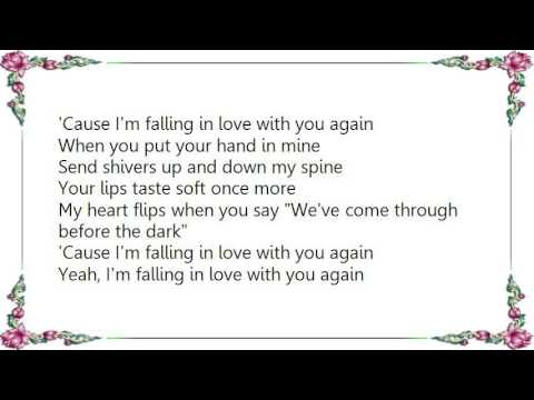 falling in love with you again lyrics