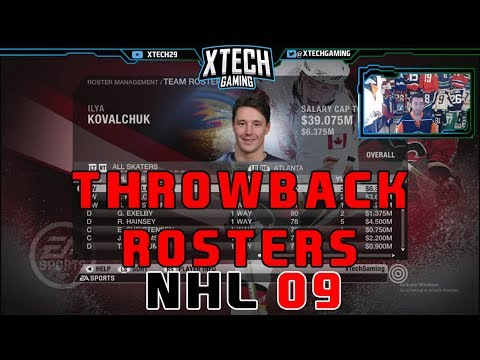 NHL 2009 THROWBACK l Rosters