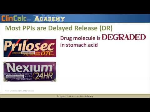 Proton Pump Inhibitors (PPI) - Top 250 Drugs
