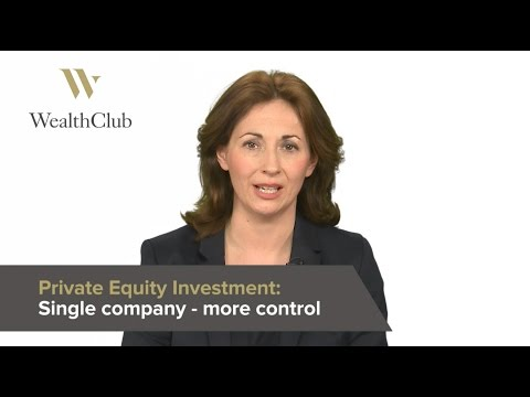 Investing in a single company – Private equity investments – Wealth Club