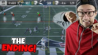 98 YARDS AND 1:30 LEFT WITH AN ENDING THAT LEFT SOMEONE ABSOLUTELY DEVASTATED!! Madden 18 Packed Out