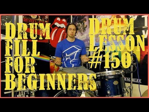 Cool Drum Fill For Beginners - Drum Lesson #150
