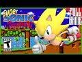 【Romhack】Super Sonic in Sonic The Hedgehog Gameplay Walkthrough [RetroArch - HD]