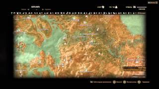 Велен и Новиград карта полностью открытая
