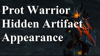 Prot Warrior Hidden Artifact Appearance - Last Breath of the Worldbreaker