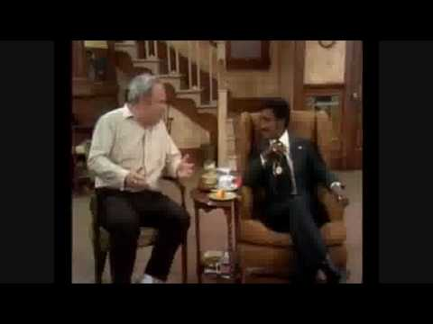 Classic Televison Moments: All In The Family - Archie Meets A Queer Colored