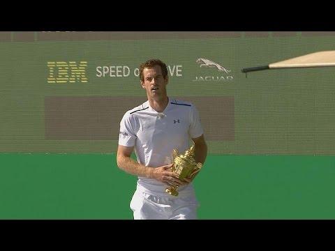 Andy Murray calienta para Wimbledon con Euronews - interview