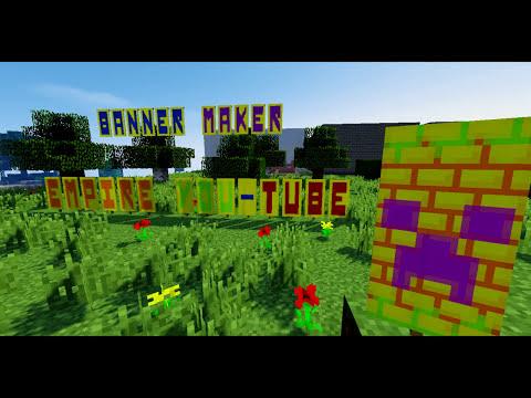banner minecraft buchstaben