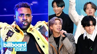 BTS to Join Jason Derulo and Jawsh 685 for Savage Love Remix Dropping This Week | Billboard News