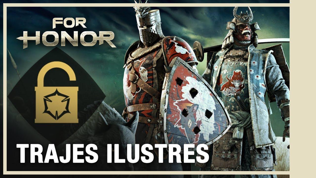 For Honor - Conteúdo semanal: Trajes ilustres   Julho 2020