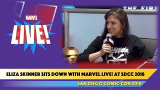Comedian Eliza Skinner Chats about the Magic of Playlists at SDCC 2018