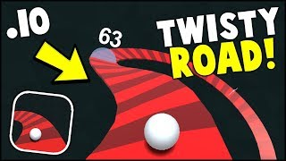 NEW .IO GAME?? TWISTY ROAD! 2018 MOST ADDICTIVE GAME EVER (Twisty Road Gameplay)