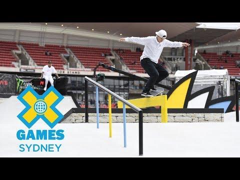 Men's Skateboard Street Final: FULL SHOW   X Games Sydney 2018