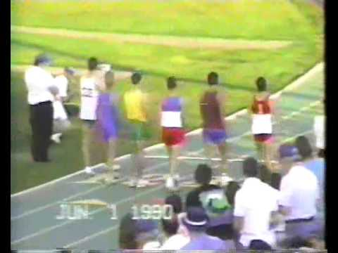 Mike Granger June 1st 1990, Section 4 Record, 800 ...