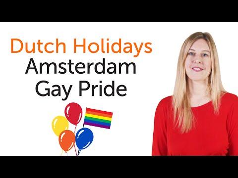 Dutch Holidays - Amsterdam Gay Pride