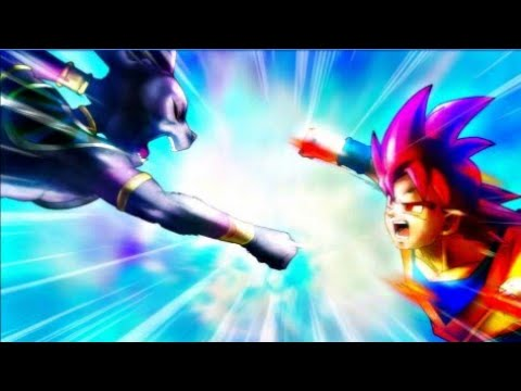GOKU VS LORD BEERUS//DUBSTEP REMIX//I WILL NOT LET YOU DESTROY MY WORLD// BATTLE OF GODS//