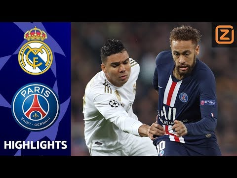 SPANNENDE SLOTFASE IN MADRID   Real Madrid Vs PSG   Champions League 2019/20   Samenvatting