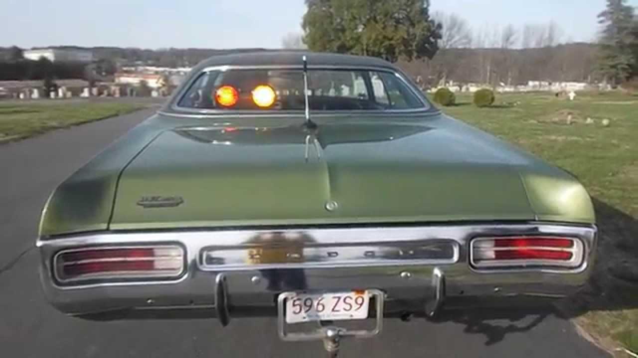 1972 Dodge Polara For Sale Ebay Youtube